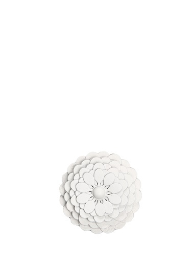 Loewe Loewe  Çiçek Formlu Kadın Deri Çanta Aksesuarı 101613430 Beyaz